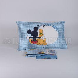 Mickey Pluto Completo Lenzuola Una Piazza E Mezza Caleffi Disney 3814