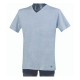 BASIC T-SHIRT SCOLLO A V FILA FU5034